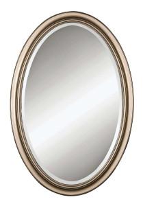 Petite Manhattan Oval Mirror by Uttermost