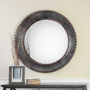 Tanaina Round Mirror by Uttermost
