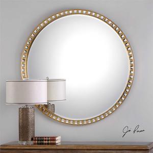 Namur Round Mirror - by Uttermost