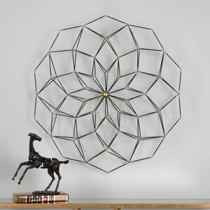 Dorrin Metal Wall Decor by Uttermost