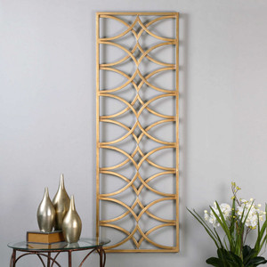 Azalea Metal Wall Panel by Uttermost