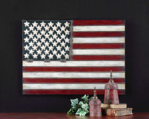 American Flag Metal Wall Decor by Uttermost