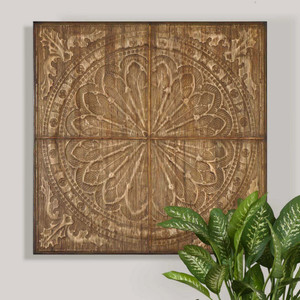 Camillus Wood Wall Panel by Uttermost