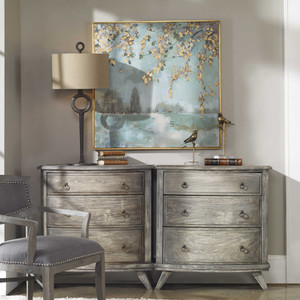 Peaceful Hand Painted Canvas by Uttermost