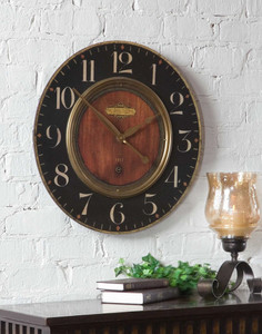 Alexandre Martinot 58cm Wall Clock by Uttermost