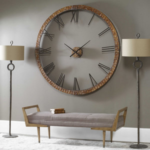 Amarion Wall Clock by Uttermost