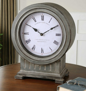 Chouteau Mantel Clock by Uttermost