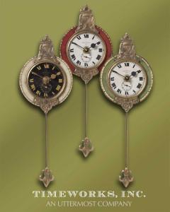 Monarch Wall Clocks S/3 by Uttermost