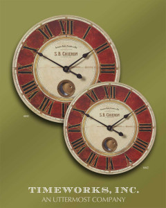 S.B. Chieron 58cm Wall Clock by Uttermost