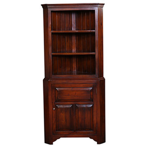 Benjamin Corner Cabinet - Size: 180H x 79W x 46D (cm)