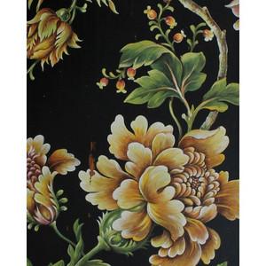 A480 Orange Floral Artwork by Bramble Co