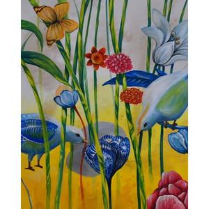 A486 Doves Artwork by Bramble Co
