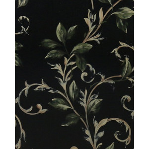 A546 Botanical Scroll by Bramble Co