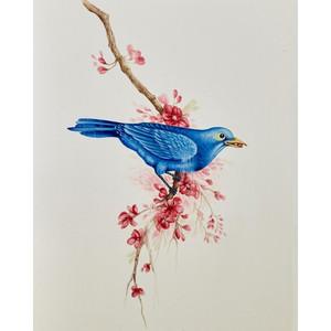 A710 Bluebird custom furniture artwork
