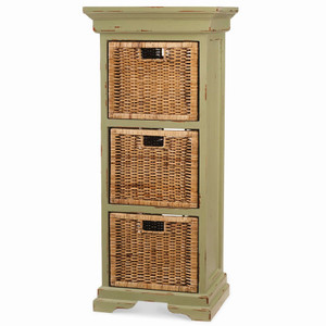 Veranda Triple Storage Tower - Size: 125H x 56W x 41D (cm)