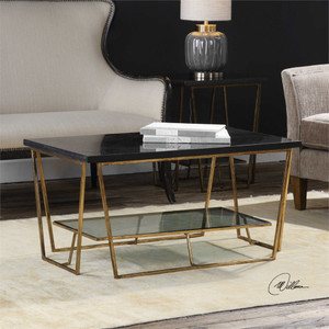 Agnes Coffee Table - by Uttermost
