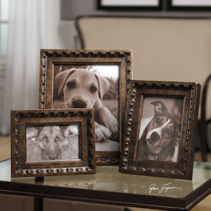 Kalya Photo Frames S/3 by Uttermost