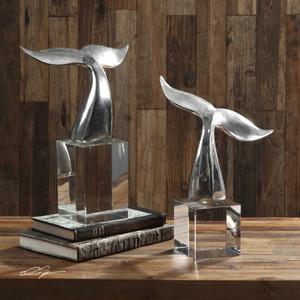 Fluke Sculptures S/2 by Uttermost