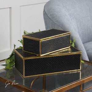 Ukti Boxes S/2 by Uttermost