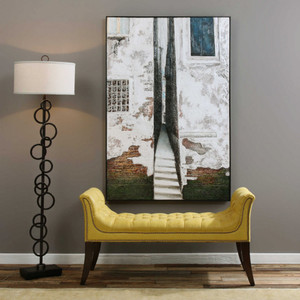 Coming Home Hand Painted Canvas by Uttermost