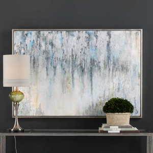 Overcast Hand Painted Canvas by Uttermost