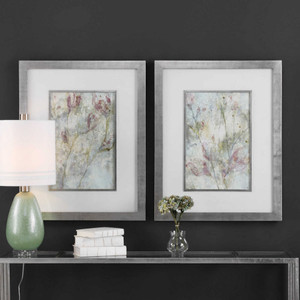 Flower Dreams Framed Prints S/2 by Uttermost