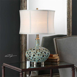 Volu Table Lamp - by Uttermost