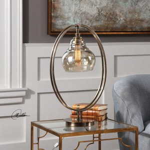 Elliptical Accent Lamp by Uttermost
