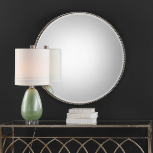 Stefania Round Mirror by Uttermost