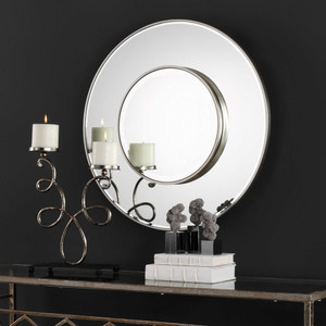 Odelia Round Mirror by Uttermost