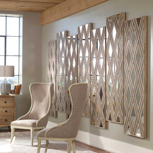 Tahira Wood Wall Decor Rectangle by Uttermost