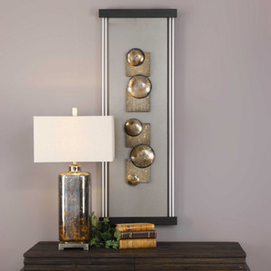 Zaccai Wood Wall Panel by Uttermost