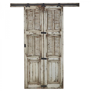 Single Shutter Sliding Door - Size: 237H x 212W x 7D (cm)