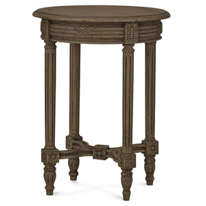 St James End table - Size: 67H x 51W x 51D (cm)