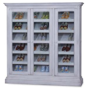 Sari Shoe Cabinet - Size: 180H x 177W x 40D (cm)