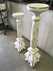 Baroque Plant Stand Sml - Size: 80H x 20W x 20D (cm)