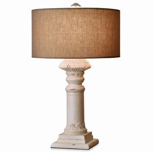 Althorp Lamp Base w/ Shade - Size: 70H x 46W x 46D (cm)