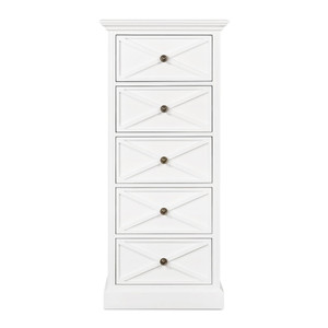 Hamptons Cross Sorrento Tallboy - White