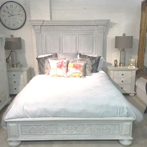 Charleston Queen Bed Set - Size: 183H x 196W x 234D (cm)