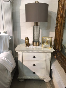 Charleston Bedside - Size: 70H x 70W x 40D (cm)