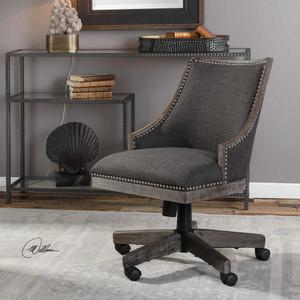 Aidrian Desk Chair by Uttermost
