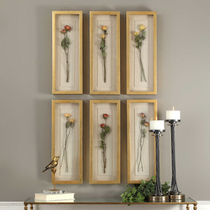 Rosalie Shadow Boxes S/6 by Uttermost