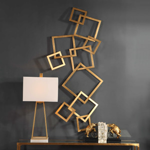 Vida Metal Wall Decor by Uttermost