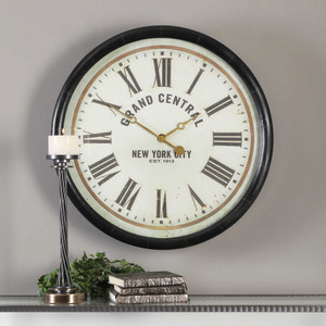 Leonor Wall Clock by Uttermost