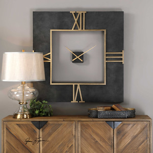 Mudita Wall Clock by Uttermost
