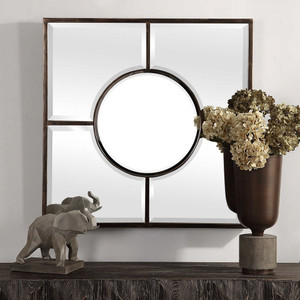 Baeden Square Mirror by Uttermost