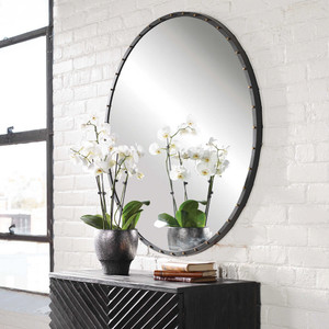 Benedo Round Mirror by Uttermost