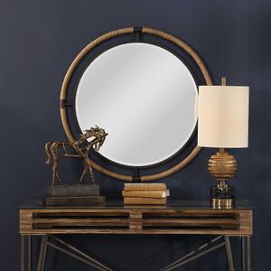 Melville Round Mirror by Uttermost