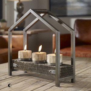 Ellie Candleholder by Uttermost