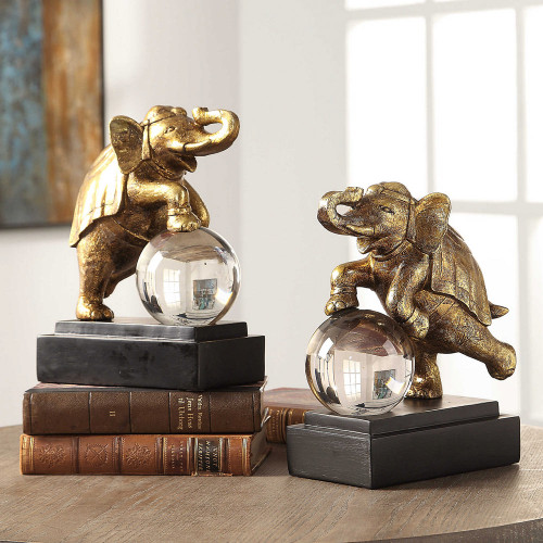 Circus Act Bookends S/2